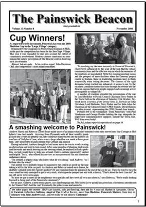 Painswick Beacon November 2008 Edition