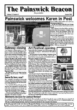 Painswick Beacon August 2009 Edition