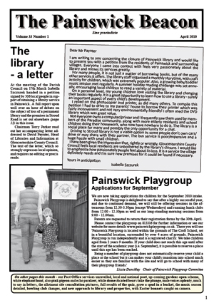 Painswick Beacon April 2010 Edition