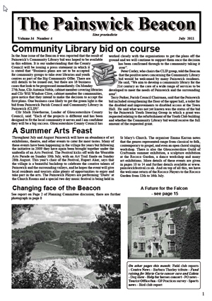 Painswick Beacon July 2011 Edition