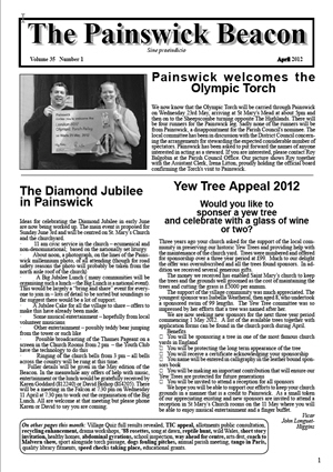 Painswick Beacon April 2012 Edition