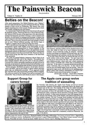 Painswick Beacon February 2012 Edition