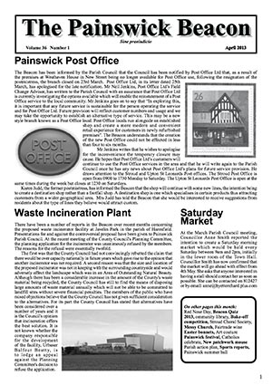 Painswick Beacon April 2013 Edition