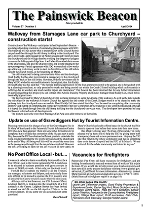 Painswick Beacon April 2014 Edition