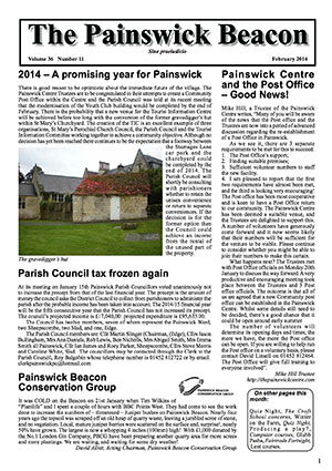 Painswick Beacon February 2014 Edition