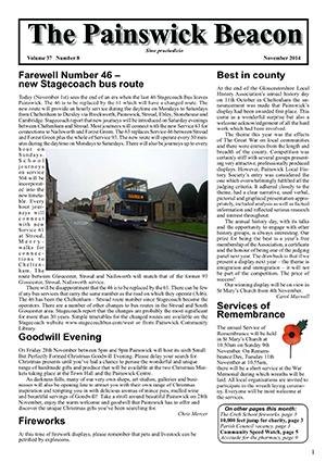 Painswick Beacon November 2014 Edition