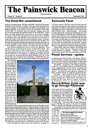 Painswick Beacon September 2014 Edition