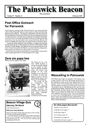 Painswick Beacon February 2015 Edition