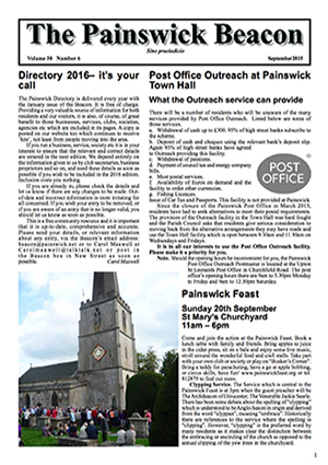Painswick Beacon September 2015 Edition