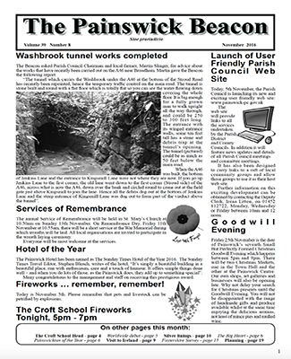Painswick Beacon November 2016 Edition