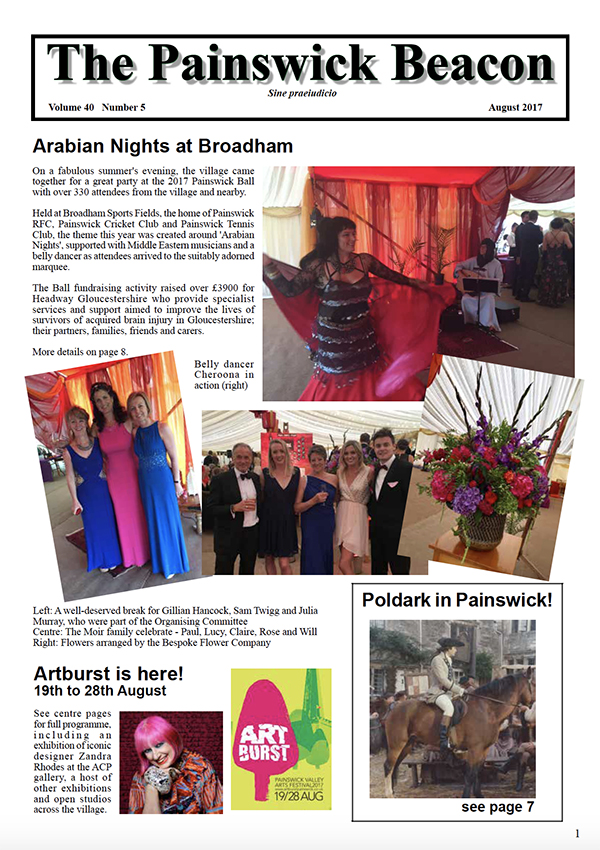 Painswick Beacon August 2017 Edition