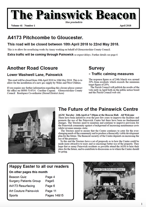 Painswick Beacon April 2018 Edition