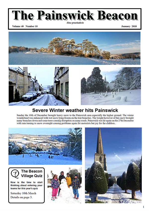 Painswick Beacon January 2018 Edition