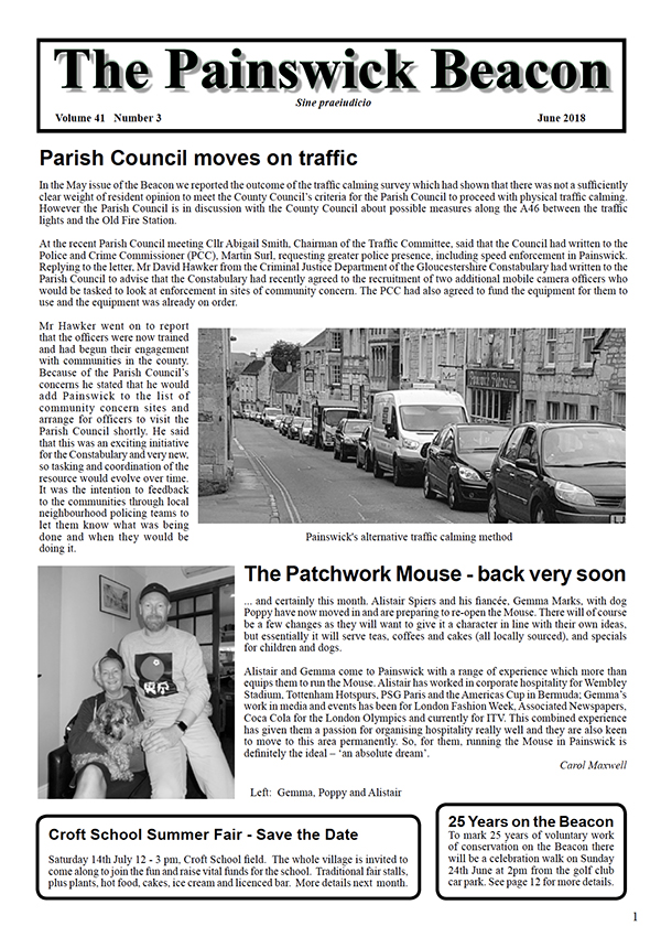 Painswick Beacon June 2018 Edition