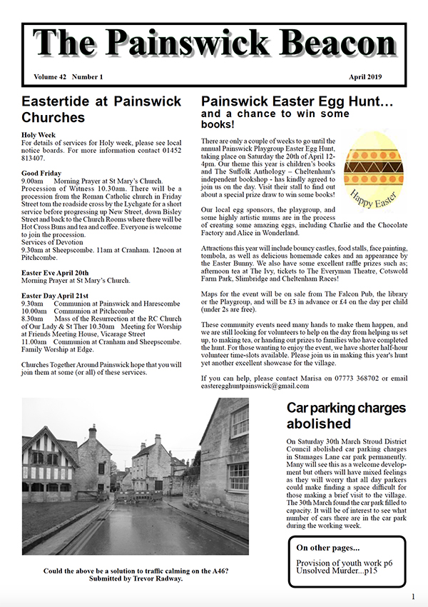 Painswick Beacon April 2019 Edition