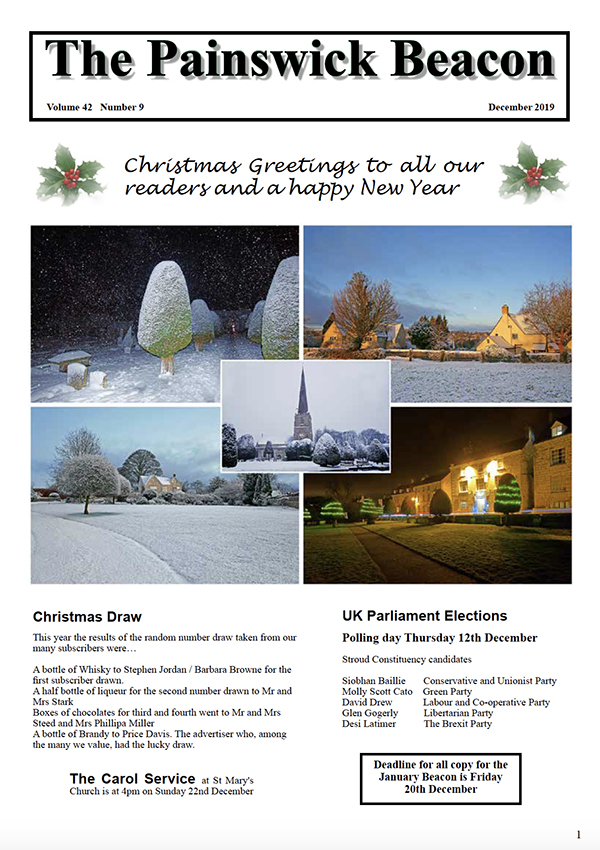 Painswick Beacon December 2019 Edition