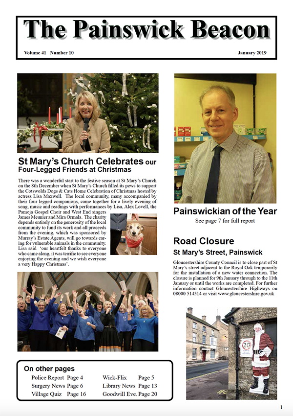 Painswick Beacon January 2019 Edition