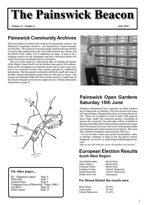 Painswick Beacon June 2019 Edition