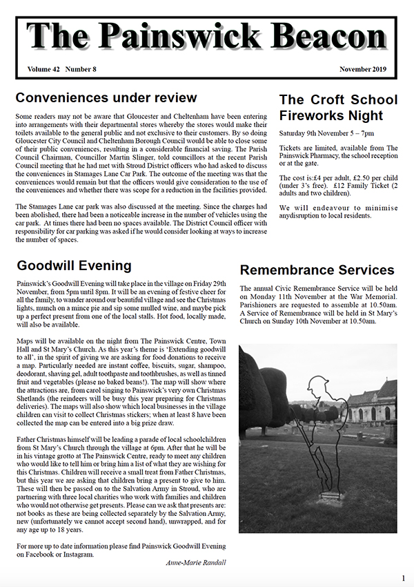 Painswick Beacon November 2019 Edition