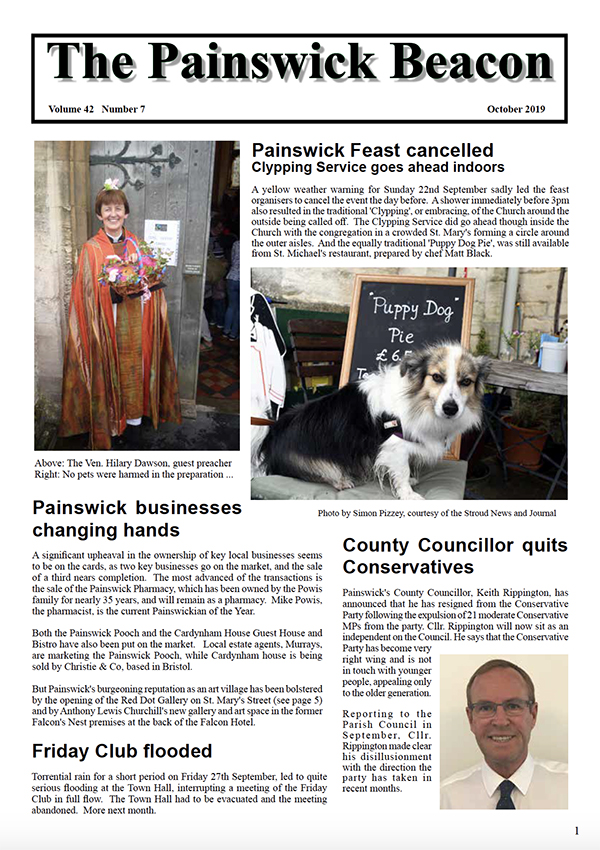 Painswick Beacon October 2019 Edition