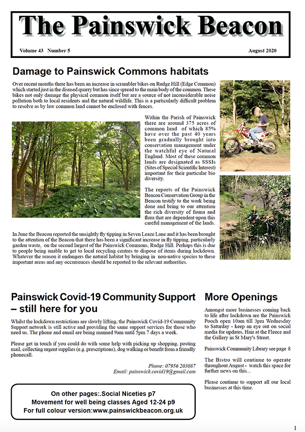 Painswick Beacon August 2020 Edition