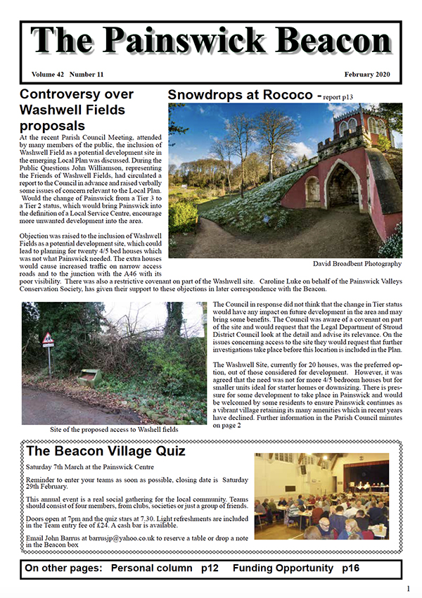 Painswick Beacon February 2020 Edition
