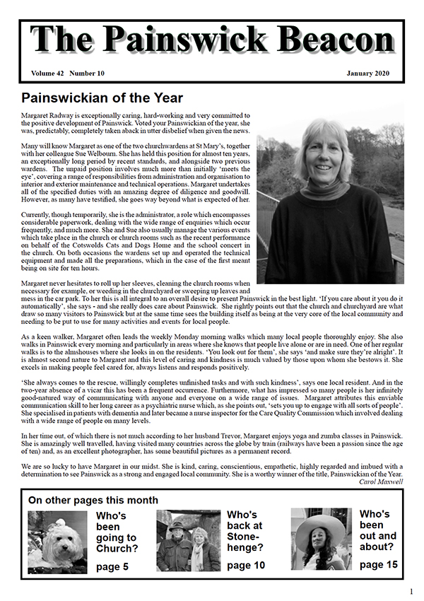 Painswick Beacon January 2020 Edition