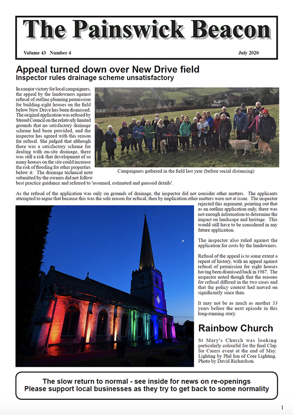 Painswick Beacon July 2020 Edition