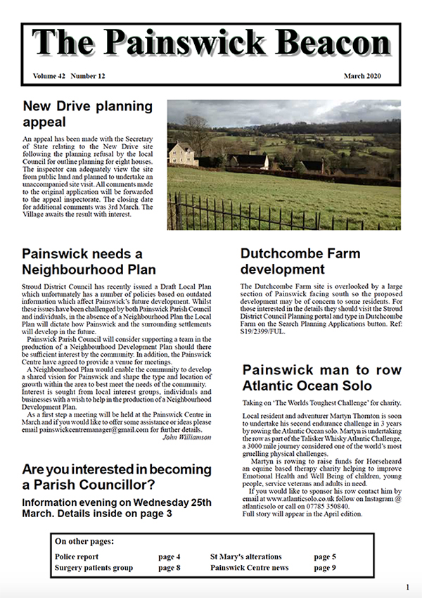 Painswick Beacon March 2020 Edition