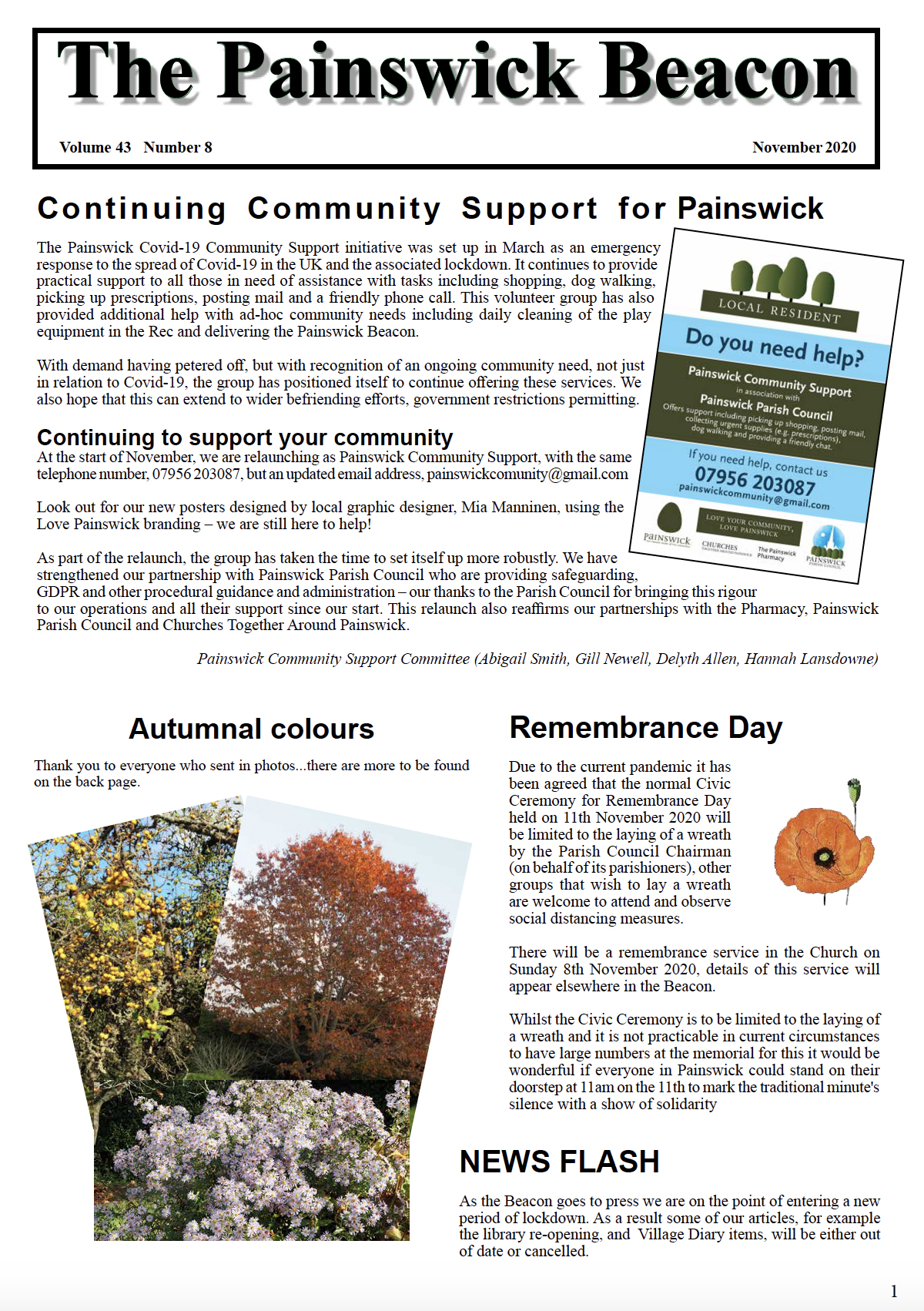 Painswick Beacon November 2020 Edition