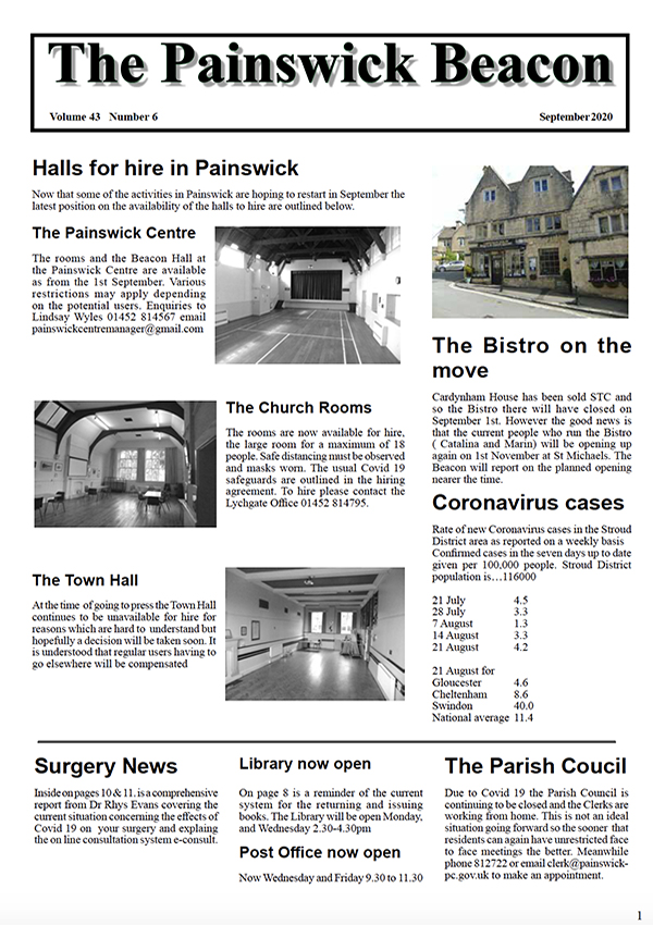 Painswick Beacon September 2020 Edition